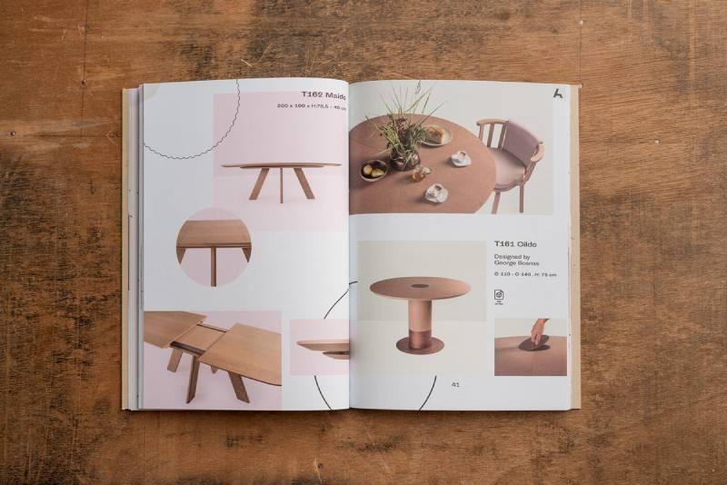mẫu thiết kế catalogue nội thất