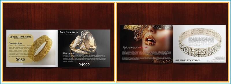 jewellery catalogue template